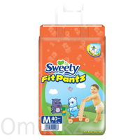 Трусики Sweety Fit Pantz размер M 7–12 кг 40 шт