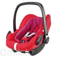 Автокресло MAXI-COSI Pebble Plus Red Orchid 0 – 12 мес.