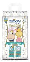 Трусики Sweety Pantz Gold размер XXL 17 – 25 кг 28 шт
